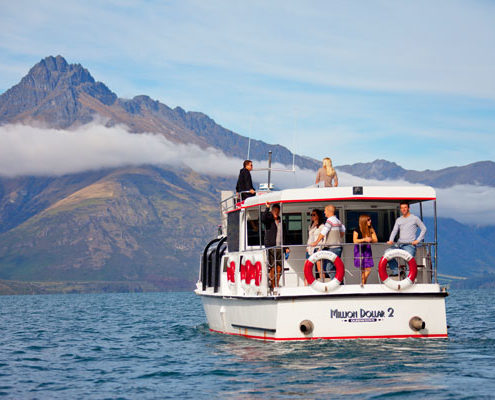Enjoy a cruise from Queenstown Central with Million Dollar Cruises