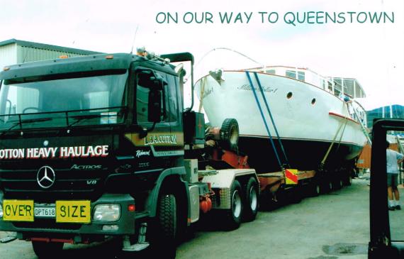 Million Dollar Leaving Nelson for Queenstown